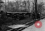 Image of 155mm long gun towed by army truck France, 1918, second 9 stock footage video 65675048427