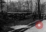 Image of 155mm long gun towed by army truck France, 1918, second 10 stock footage video 65675048427