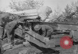 Image of Preparing 155mm gun for towing France, 1918, second 1 stock footage video 65675048429