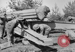 Image of Preparing 155mm gun for towing France, 1918, second 3 stock footage video 65675048429
