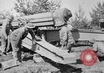 Image of Preparing 155mm gun for towing France, 1918, second 4 stock footage video 65675048429