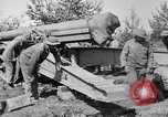 Image of Preparing 155mm gun for towing France, 1918, second 5 stock footage video 65675048429