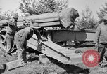 Image of Preparing 155mm gun for towing France, 1918, second 6 stock footage video 65675048429
