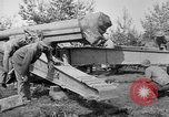Image of Preparing 155mm gun for towing France, 1918, second 8 stock footage video 65675048429