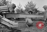 Image of Preparing 155mm gun for towing France, 1918, second 11 stock footage video 65675048429