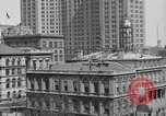 Image of Manhattan Municipal Building soon after completion New York City USA, 1918, second 2 stock footage video 65675048438