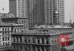 Image of Manhattan Municipal Building soon after completion New York City USA, 1918, second 3 stock footage video 65675048438