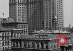 Image of Manhattan Municipal Building soon after completion New York City USA, 1918, second 6 stock footage video 65675048438