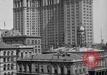 Image of Manhattan Municipal Building soon after completion New York City USA, 1918, second 7 stock footage video 65675048438