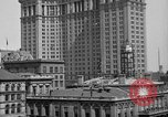 Image of Manhattan Municipal Building soon after completion New York City USA, 1918, second 8 stock footage video 65675048438