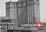 Image of Manhattan Municipal Building soon after completion New York City USA, 1918, second 10 stock footage video 65675048438
