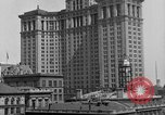 Image of Manhattan Municipal Building soon after completion New York City USA, 1918, second 11 stock footage video 65675048438