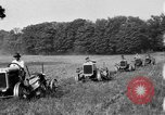 Image of rows of tractors United States USA, 1917, second 9 stock footage video 65675048439