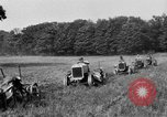 Image of rows of tractors United States USA, 1917, second 11 stock footage video 65675048439