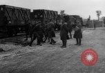 Image of Railroad deliveries to AEF logistics center in France Romorantin France, 1918, second 7 stock footage video 65675048441