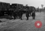 Image of Railroad deliveries to AEF logistics center in France Romorantin France, 1918, second 8 stock footage video 65675048441