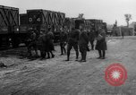 Image of Railroad deliveries to AEF logistics center in France Romorantin France, 1918, second 9 stock footage video 65675048441