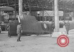 Image of DH 4 plane assembled by French women Romorantin France, 1918, second 4 stock footage video 65675048443