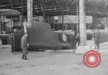Image of DH 4 plane assembled by French women Romorantin France, 1918, second 5 stock footage video 65675048443
