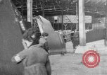 Image of DH 4 plane assembled by French women Romorantin France, 1918, second 12 stock footage video 65675048443