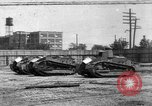 Image of Renault FT tanks Bridgeport Connecticut USA, 1918, second 1 stock footage video 65675048445