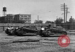Image of Renault FT tanks Bridgeport Connecticut USA, 1918, second 4 stock footage video 65675048445