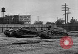 Image of Renault FT tanks Bridgeport Connecticut USA, 1918, second 5 stock footage video 65675048445