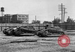 Image of Renault FT tanks Bridgeport Connecticut USA, 1918, second 7 stock footage video 65675048445