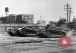 Image of Renault FT tanks Bridgeport Connecticut USA, 1918, second 9 stock footage video 65675048445