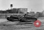Image of Renault FT tanks Bridgeport Connecticut USA, 1918, second 12 stock footage video 65675048445