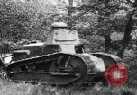 Image of Testing of Renault FT light tank at Locomobile Automobile Company  Bridgeport Connecticut USA, 1918, second 12 stock footage video 65675048446