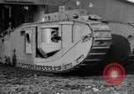 Image of Mark VIII tank testing Bridgeport Connecticut USA, 1918, second 6 stock footage video 65675048447