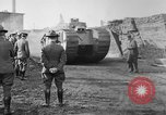 Image of WW1 era Mark VIII tank testing Bridgeport Connecticut USA, 1918, second 2 stock footage video 65675048448