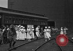 Image of Red Cross Canteen Services rail road car United States USA, 1918, second 5 stock footage video 65675048460