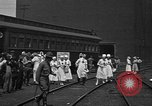 Image of Red Cross Canteen Services rail road car United States USA, 1918, second 6 stock footage video 65675048460