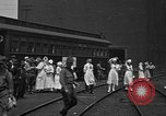 Image of Red Cross Canteen Services rail road car United States USA, 1918, second 7 stock footage video 65675048460