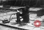 Image of fabricating steel plates for use in ships Italy, 1918, second 7 stock footage video 65675048473