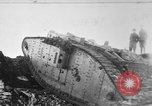 Image of British Mk IV tank France, 1918, second 1 stock footage video 65675048478
