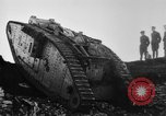 Image of British Mk IV tank France, 1918, second 6 stock footage video 65675048478