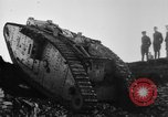 Image of British Mk IV tank France, 1918, second 7 stock footage video 65675048478