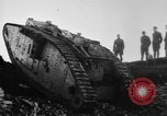Image of British Mk IV tank France, 1918, second 11 stock footage video 65675048478