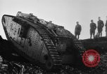 Image of British Mk IV tank France, 1918, second 12 stock footage video 65675048478