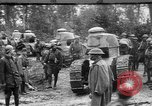 Image of American troops make way for French Renault FT Tanks France, 1918, second 1 stock footage video 65675048483