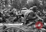 Image of American troops make way for French Renault FT Tanks France, 1918, second 7 stock footage video 65675048483