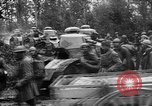 Image of American troops make way for French Renault FT Tanks France, 1918, second 8 stock footage video 65675048483