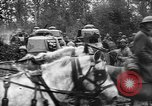Image of American troops make way for French Renault FT Tanks France, 1918, second 11 stock footage video 65675048483