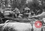 Image of American troops make way for French Renault FT Tanks France, 1918, second 12 stock footage video 65675048483