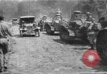Image of American infantrymen with French tanks France, 1918, second 1 stock footage video 65675048484