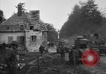 Image of American infantrymen with French tanks France, 1918, second 6 stock footage video 65675048484