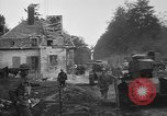 Image of American infantrymen with French tanks France, 1918, second 8 stock footage video 65675048484